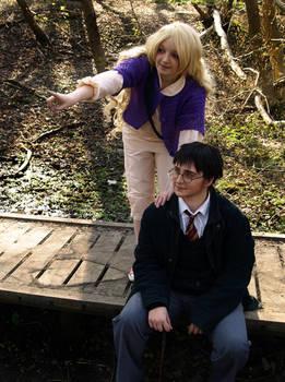 Harry and Luna Cosplay - Blibbering Humdingers