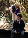 Harry and Luna Cosplay - Blibbering Humdingers