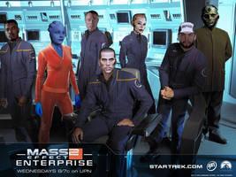 Mass Effect 2 Enterprise by RickF7666
