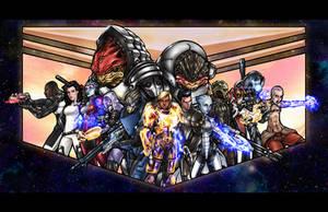 Kira Shepard and Crew by RickF7666