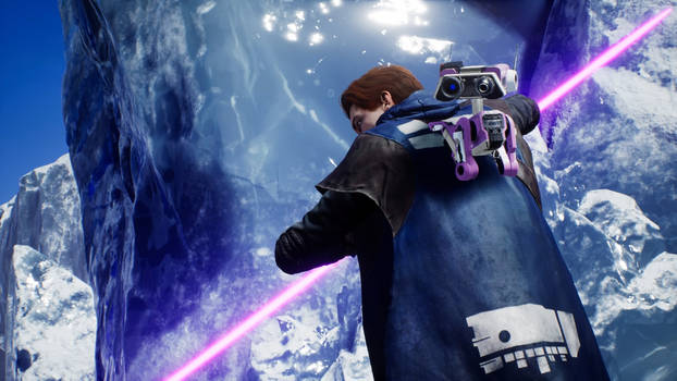 Ice Jedi (purple variation)