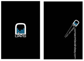 Davis' Ol' Blu Business Card by DavisLindsay