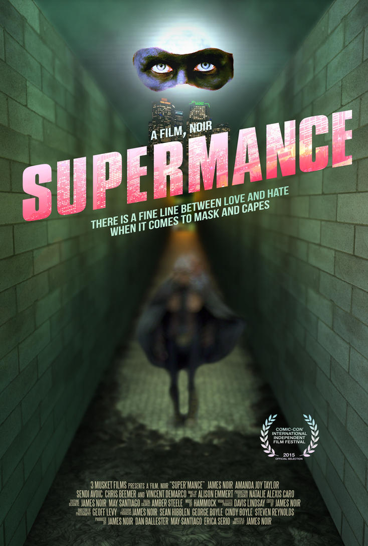 Super'mance Theatrical Poster by DavisLindsay