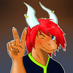 Cute Anthro Dragon Updated