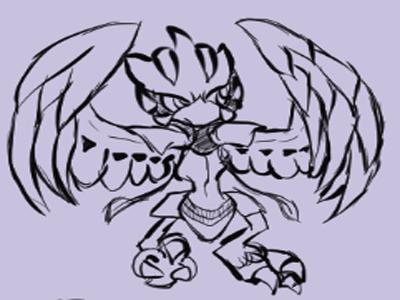 Pokemon Fusions: Scidueye by DDeify