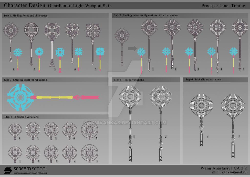 Skyforge weapon skin concept. Part 1 by MinIVankas