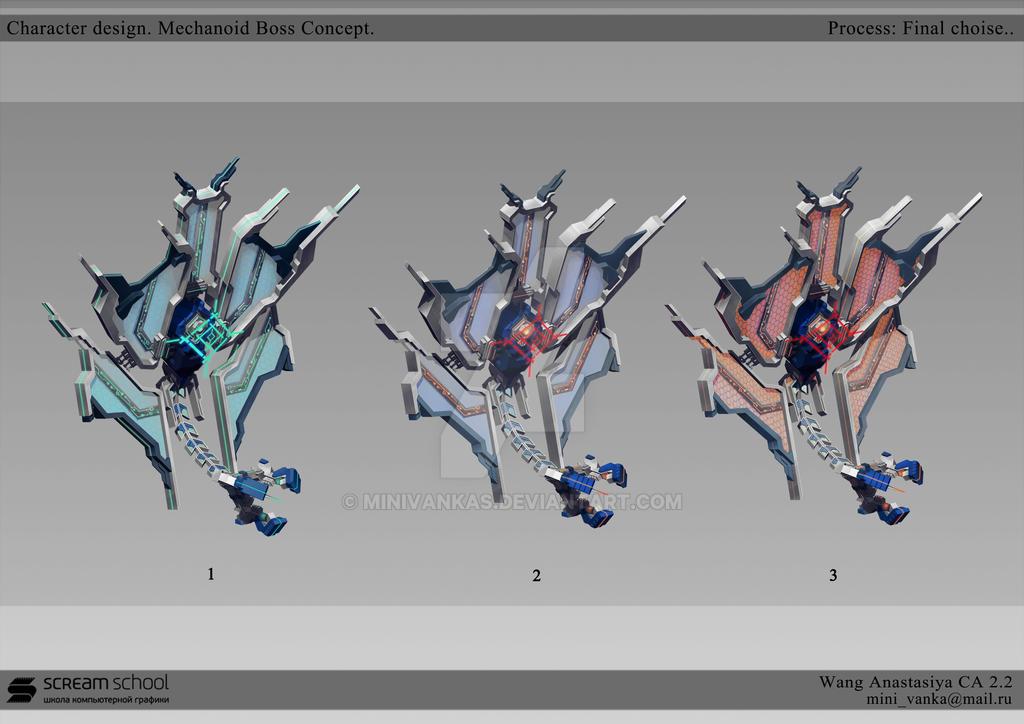 Skyforge Mechanoid Boss Concept. Part 2 by MinIVankas