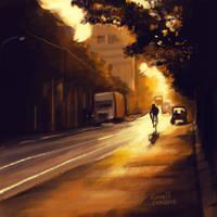 Gold Street by kasblue