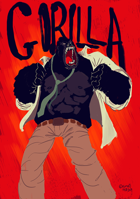 GORILLA by kasblue
