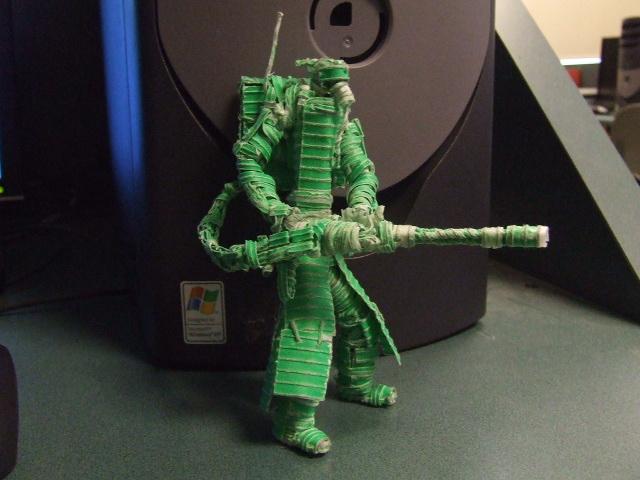 Wasteland Mini-Gunner by Twisttie-Dude