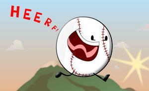 Yelling HEERF Baseball by OfficialHHJ