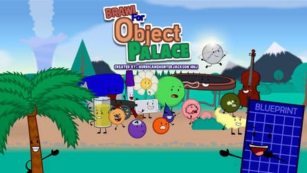 Brawl For Object Palace: Updated Official Poster by OfficialHHJ