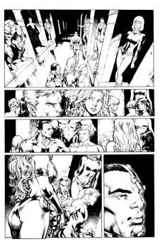 Teen Titans Ed Benes inks
