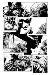 Finch Batman inks