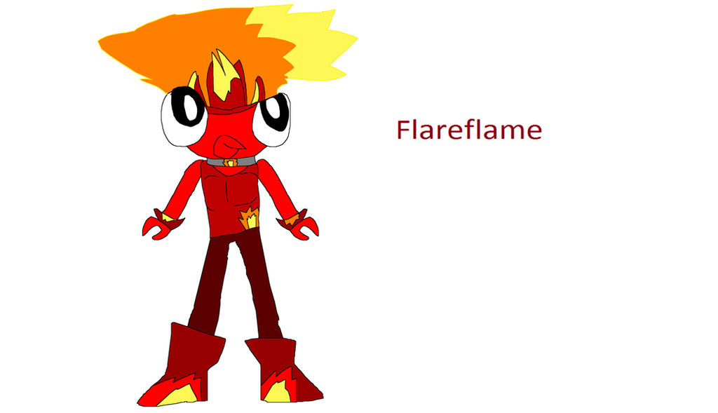 Mixels Cubit Out Of Colors Flareflame By Iza200117 On