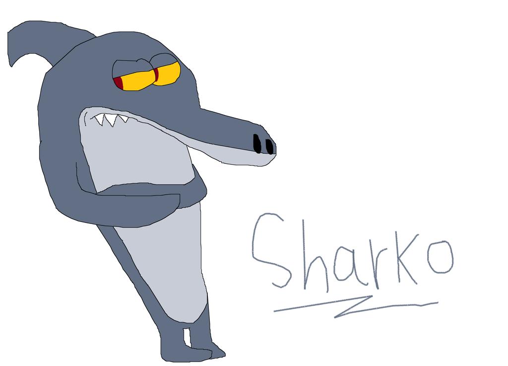 Sharko drawing from zig and sharko by iza200117 on deviantart for Zig e sharko