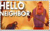 Hello Neighbor Stamp by IzaStarArtist17