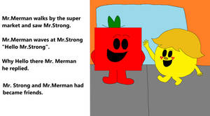 Mr.Merman book pg 46 and 47