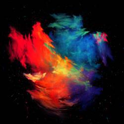 Prism // Galaxy Merger by Sventine