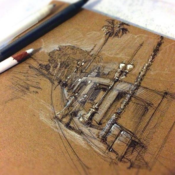 Scribbledy Sketch by Loveall1229