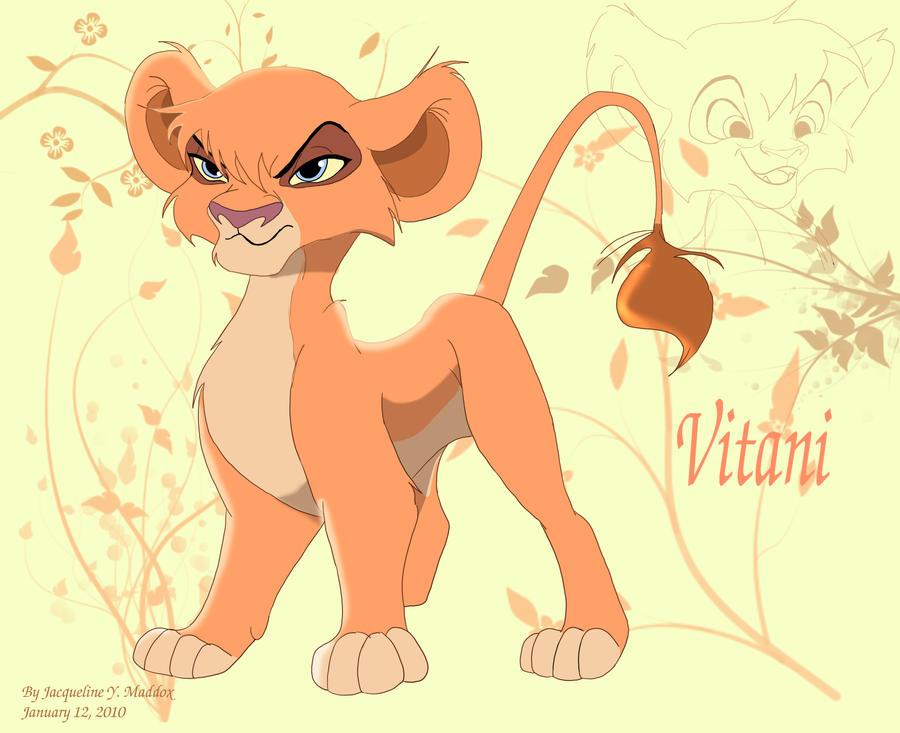 Cub Vitani design by Catgirl08