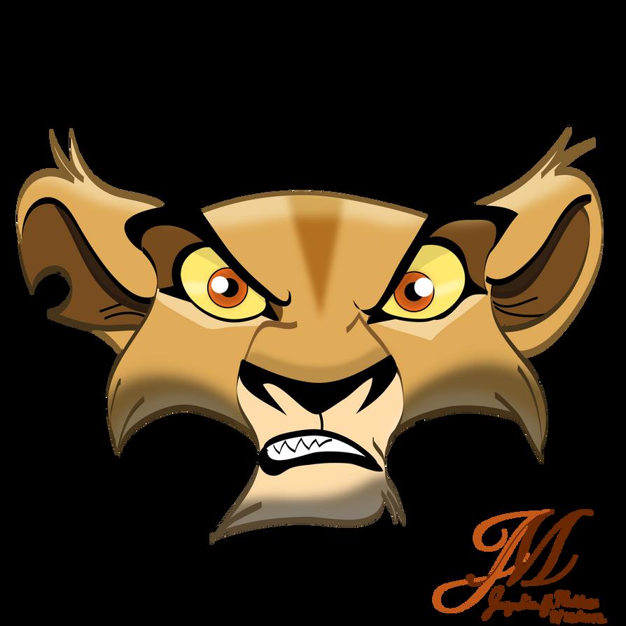 Angry Zira by Catgirl08