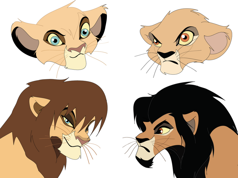 Nafari and Zuri by Catgirl08