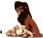 Kovu and his sons