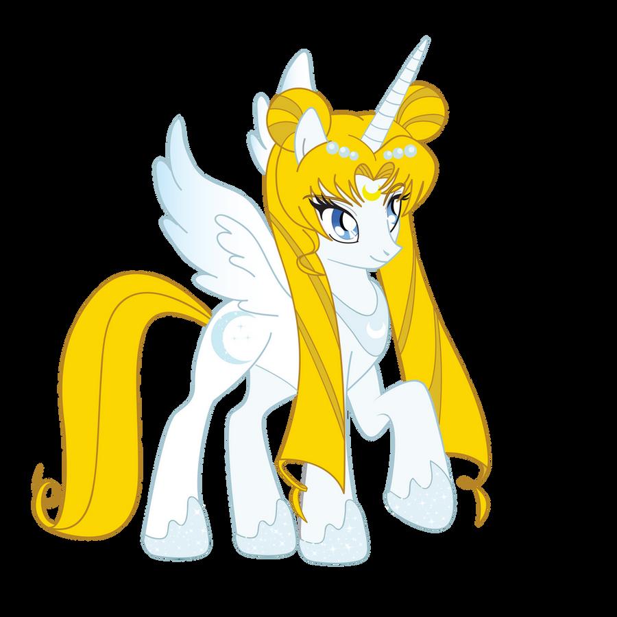 Princess Serenity Pony by Catgirl08