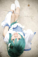 Touhou Project Cosplay : Sanae Kochiya by kyashii4