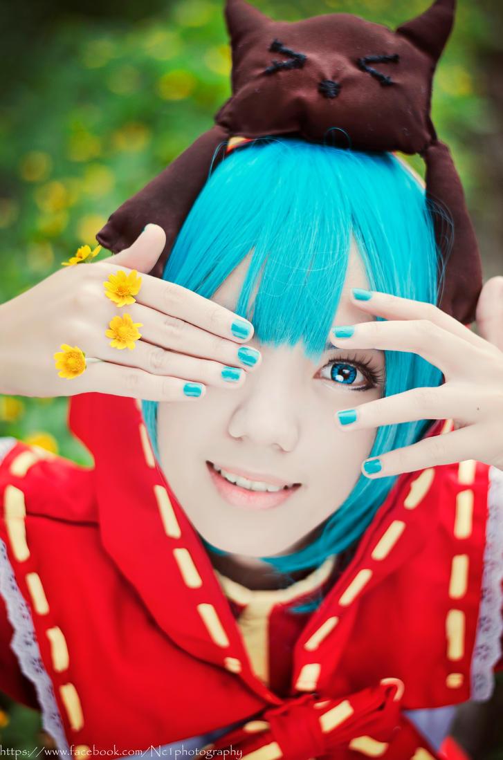 Hatsune Miku :Clover Club by kyashii4