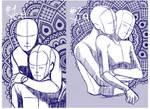 YCH COUPLE HUG 2.0 [AUCTION CLOSE]