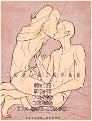 HOT COUPLE YCH [AUCTION OPEN] by kohakuasato