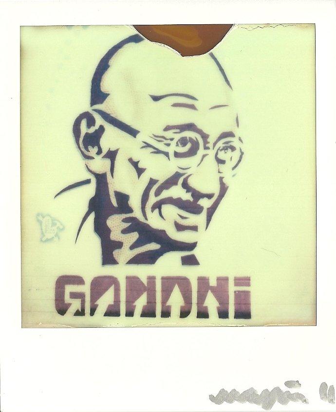 Gandhi Graffiti by Gandhi Graffiti