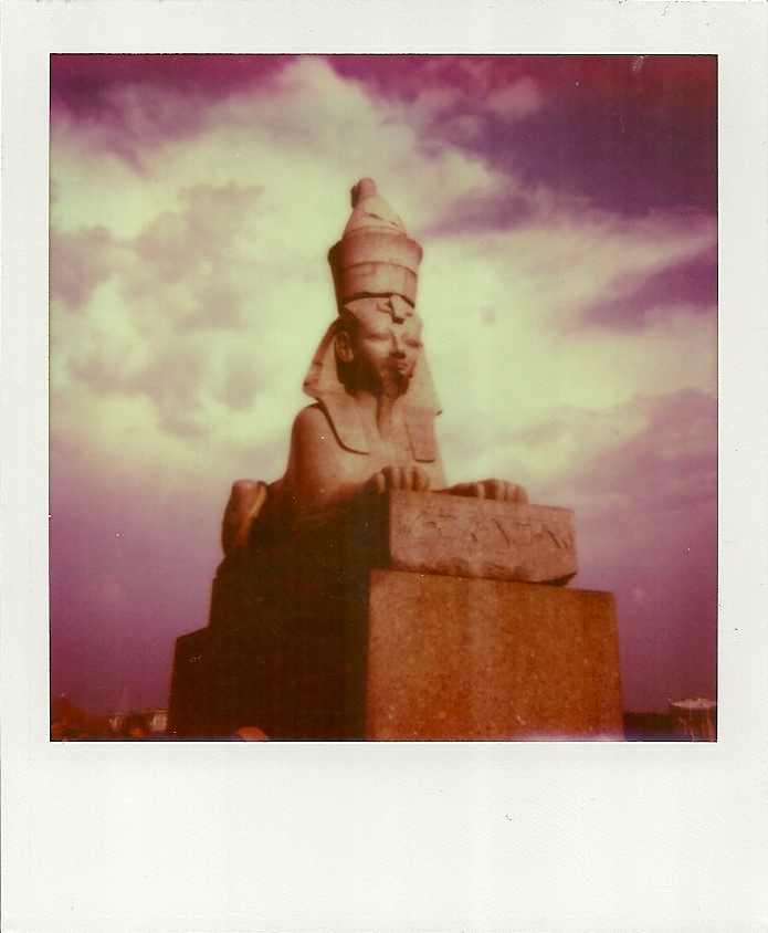 The Sphinxes of St. Petersburg by InstantPhotographer