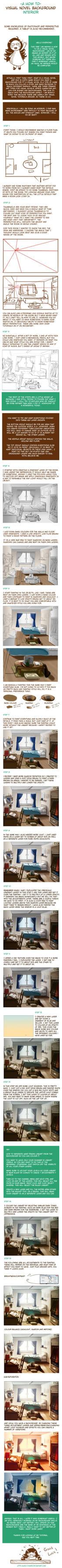 How to: Visual Novel Interior