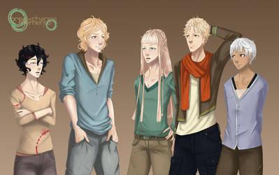 BCM's Main Cast by Auro-Cyanide