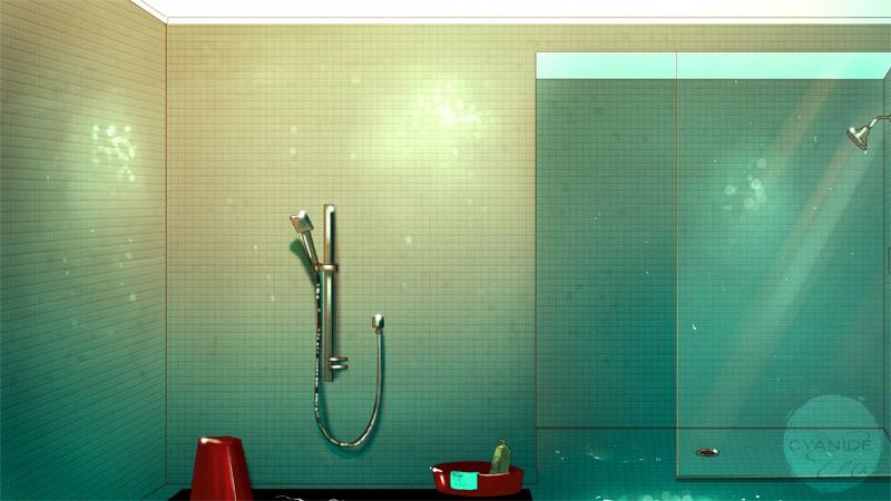 BCM: Dorm Bathroom by Auro-Cyanide