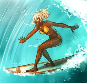 Nachtigal: Surfing