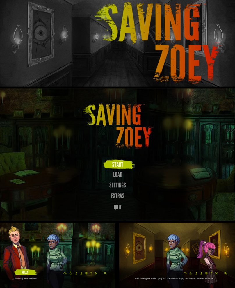 Game Release: Saving Zoey by Auro-Cyanide