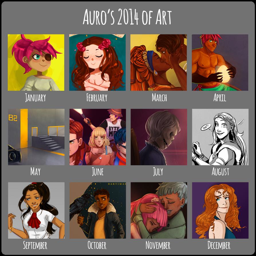 Auro's 2014 of Art by Auro-Cyanide