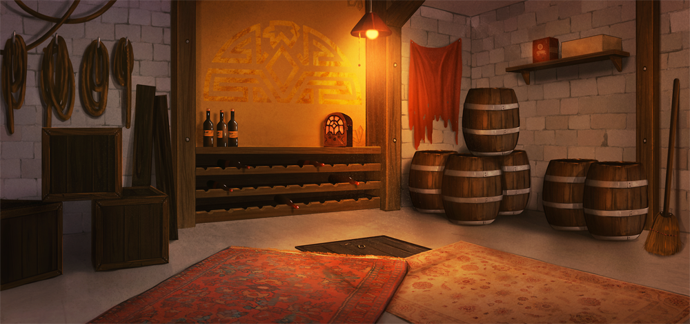 The Blind Griffin: Storage Room by Auro-Cyanide