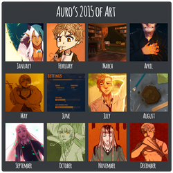 Auro's 2015 of Art