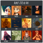 Auro's 2015 of Art by Auro-Cyanide