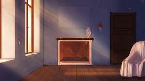 Haunted Room by Auro-Cyanide