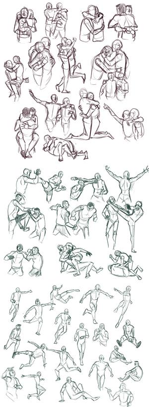 Practice: Gesture Sketches 3
