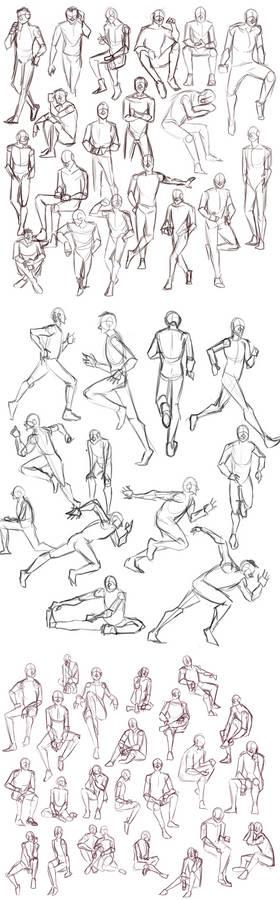 Practice: Gesture Sketches 4