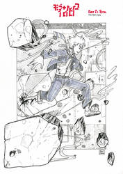 Inktober 2016: Day 8 by Auro-Cyanide