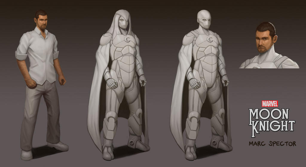 Moon Knight Concept 2 by jhndlcrz