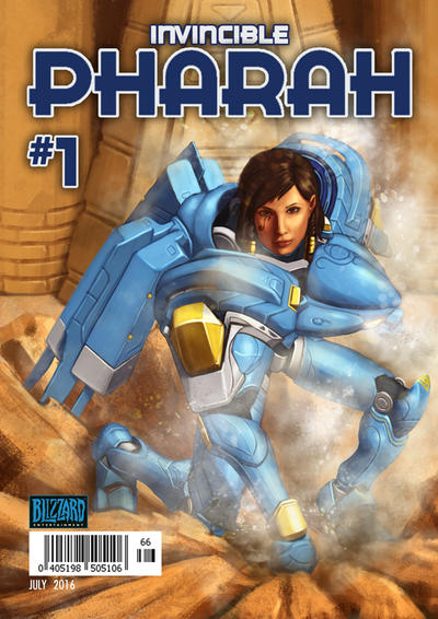 Pharah by jhndlcrz